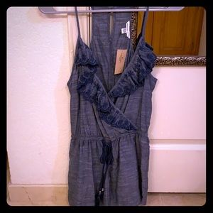 American Eagle Romper with lace trim